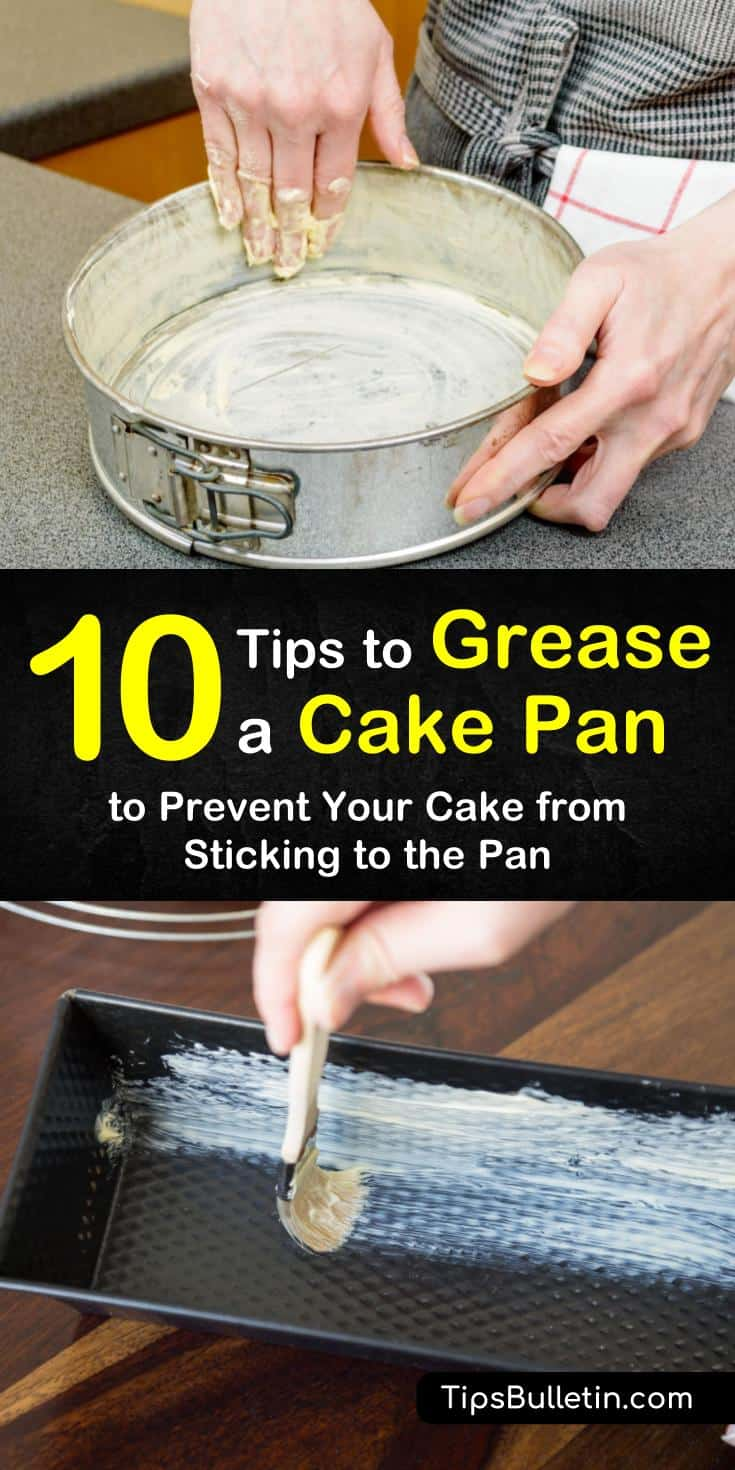 If you want to know how to grease a cake pan, this step-by-step guide will show you how. Learn the different methods to use when baking various food, such as cakes, brownies, and cookies. Try these methods with your favorite baking recipe. #grease #cake #pan