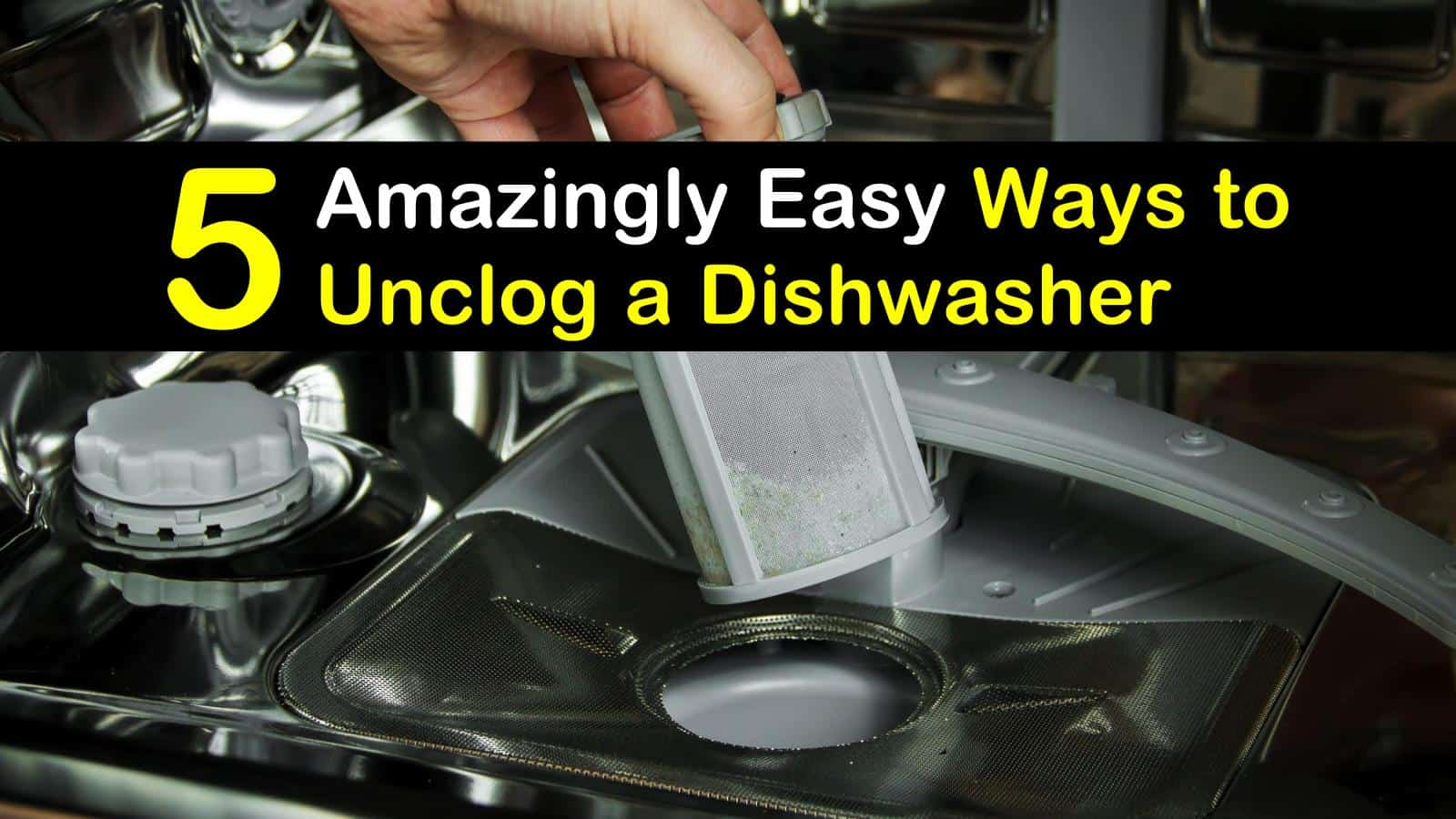 how to unclog a dishwasher titleimg1