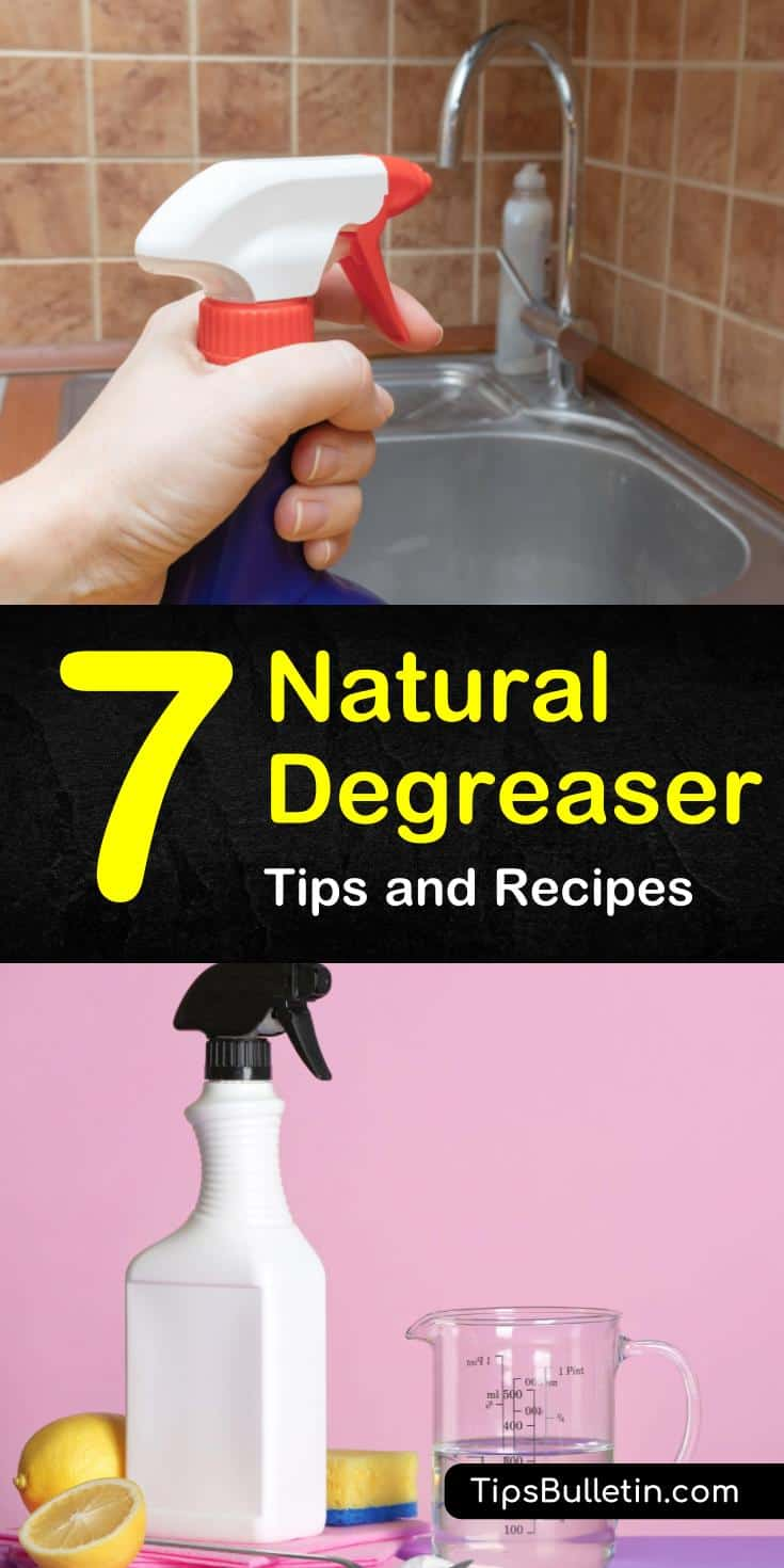 Learn how to keep your kitchens, ovens, and stoves looking their best. We give you natural degreaser recipes and show you how to make degreasers from baking soda and essential oils. They're perfect for grill and kitchen cleaning. #natural #degreaser #cleaning