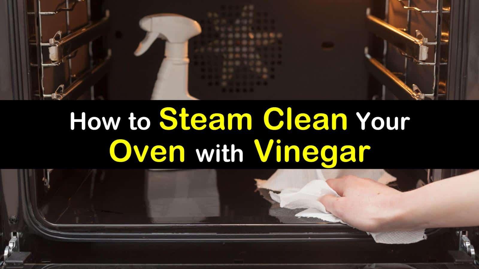 clean an oven with vinegar steam titleimg1