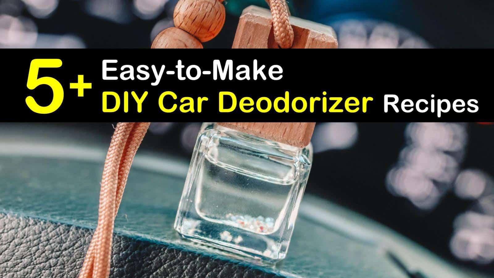 DIY car deodorizer titleimg1