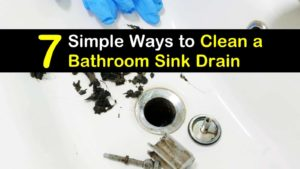 how to clean a bathroom sink drain titleimg1