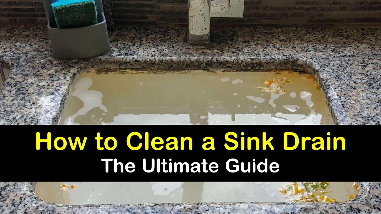 how to clean a sink drain titleimg1