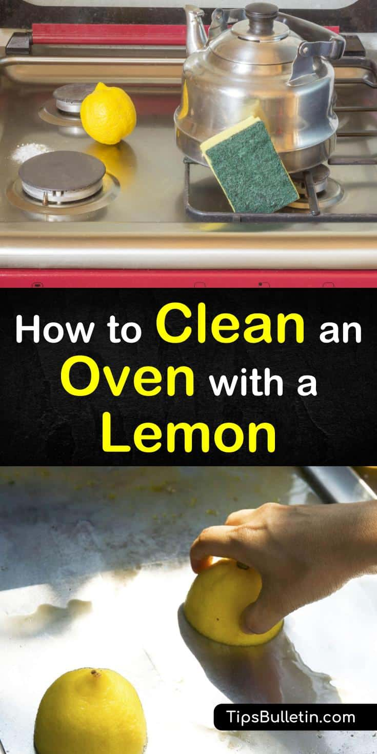 Try these two methods for how to clean an oven with a lemon. Use lemon juice and water to steam clean your oven for easy removal of grease and food particles. When that's not enough, try adding a baking soda paste to the equation to blast through grime and burnt-on foods. #clean #oven #lemon