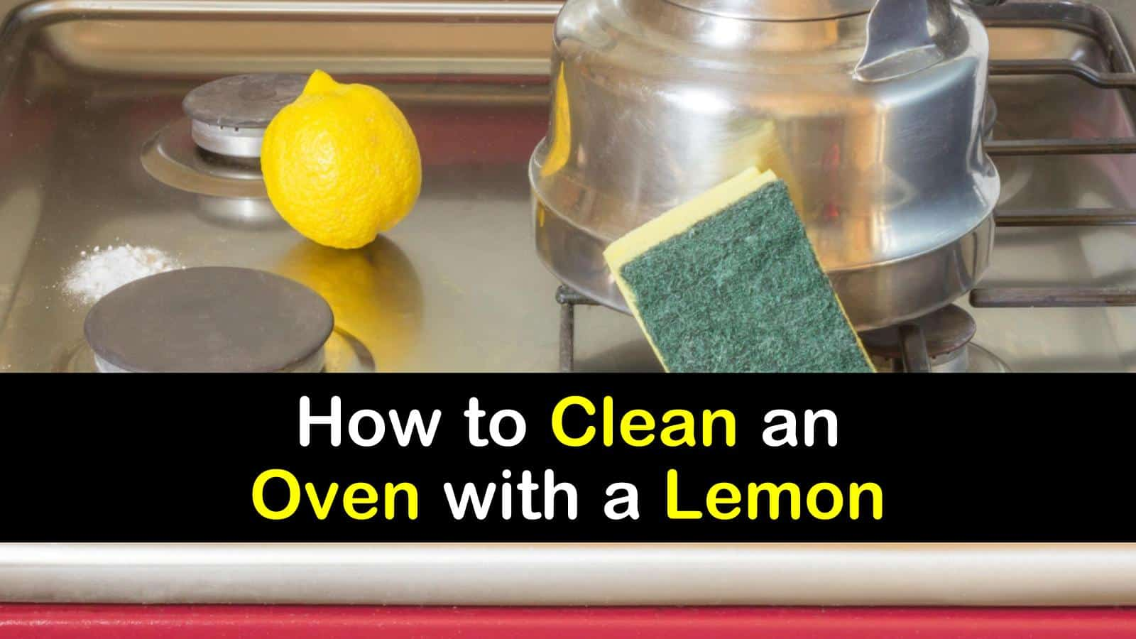 how to clean an oven with a lemon titleimg1