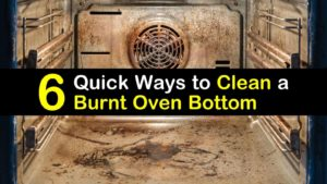 how to clean burnt oven bottom titleimg1