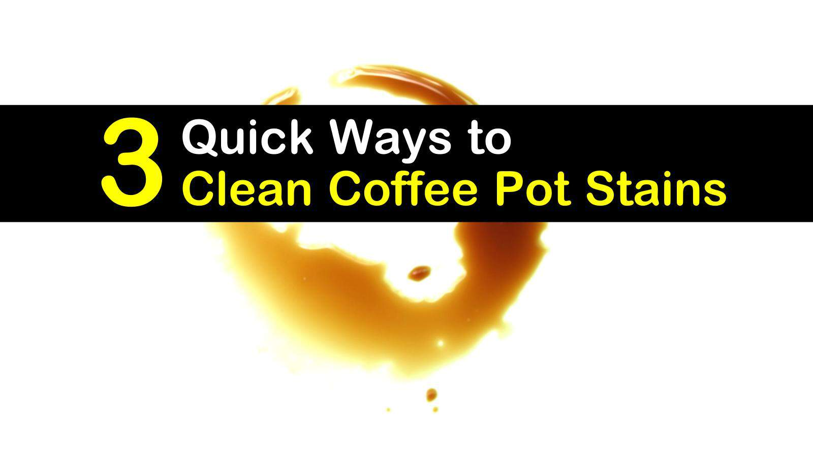 how to clean coffee pot stains titleimg1
