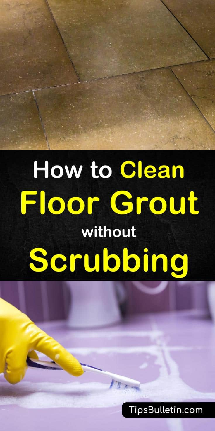 Cleaning the grout in your kitchens, bathrooms, and other tiled areas can be near-backbreaking work - unless you know the right tips and tricks! In this guide, you'll learn how to clean grouted tile with baking soda, hydrogen peroxide, white vinegar, bleach, and more. #tile #grout #groutcleaning