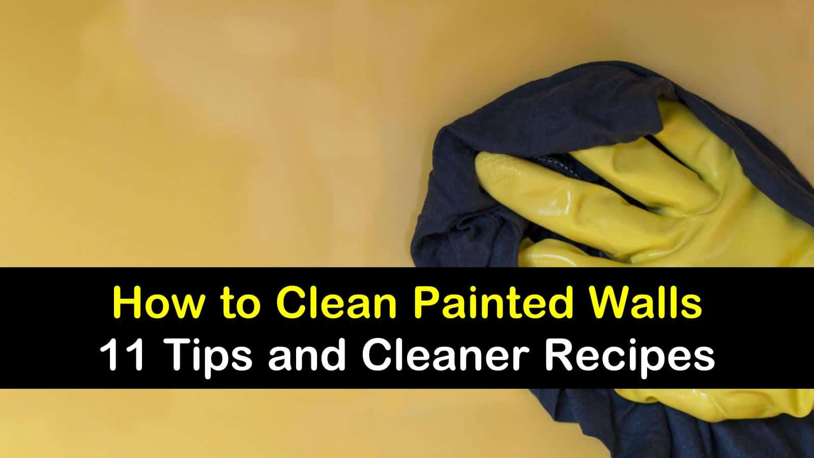 how to clean painted walls titleimg1