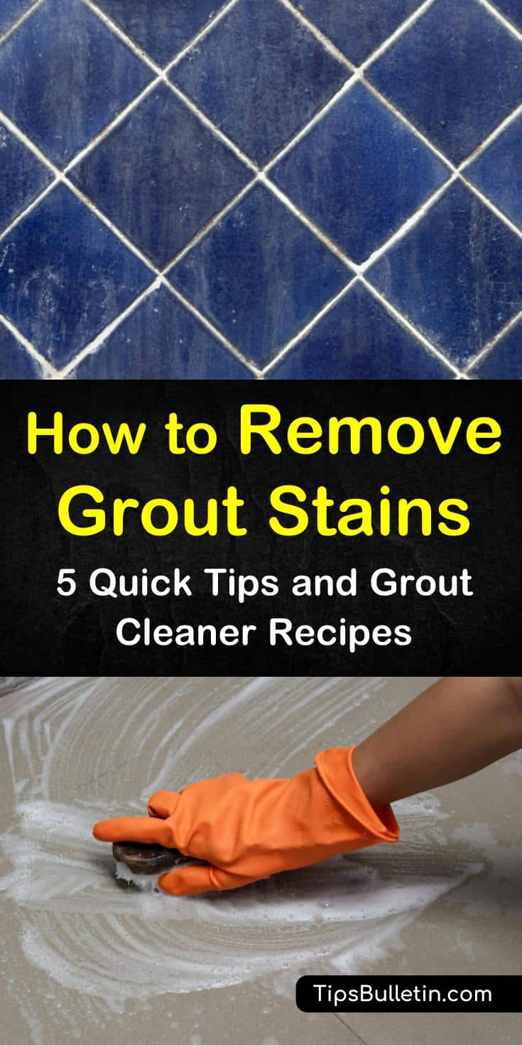 Soap scum, hard water, and dirt all take a toll on your tile grout. Even when sealed, grout is susceptible to stains. Our cleaning tips use baking soda, hydrogen peroxide and other common household items to leave your tile and grout like new. #cleantilegrout #groutcleaner #grout