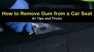 how to remove gum from a car seat titleimg1