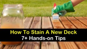 how to stain a new deck titleimg1