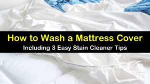 how to wash a mattress cover titleimg1