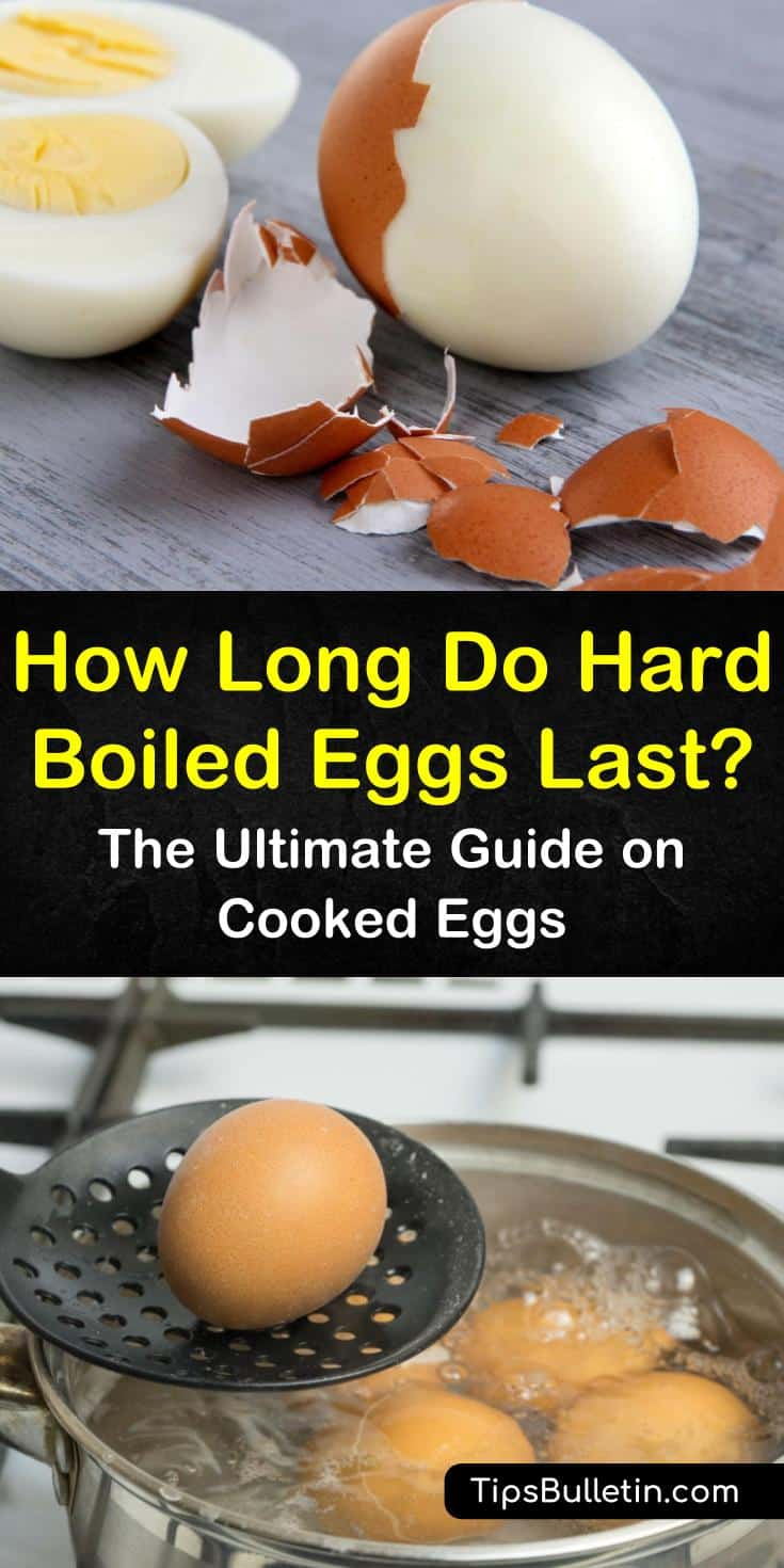 How long do hard boiled eggs last when peeled, cut, or made into delicious foods? Learn how to store hard boiled eggs in the fridge and when to toss them out. Discover the best methods for storing peeled eggs and try a brand new recipe for boiled eggs. #howlong #hardboiled #eggs #last #expire