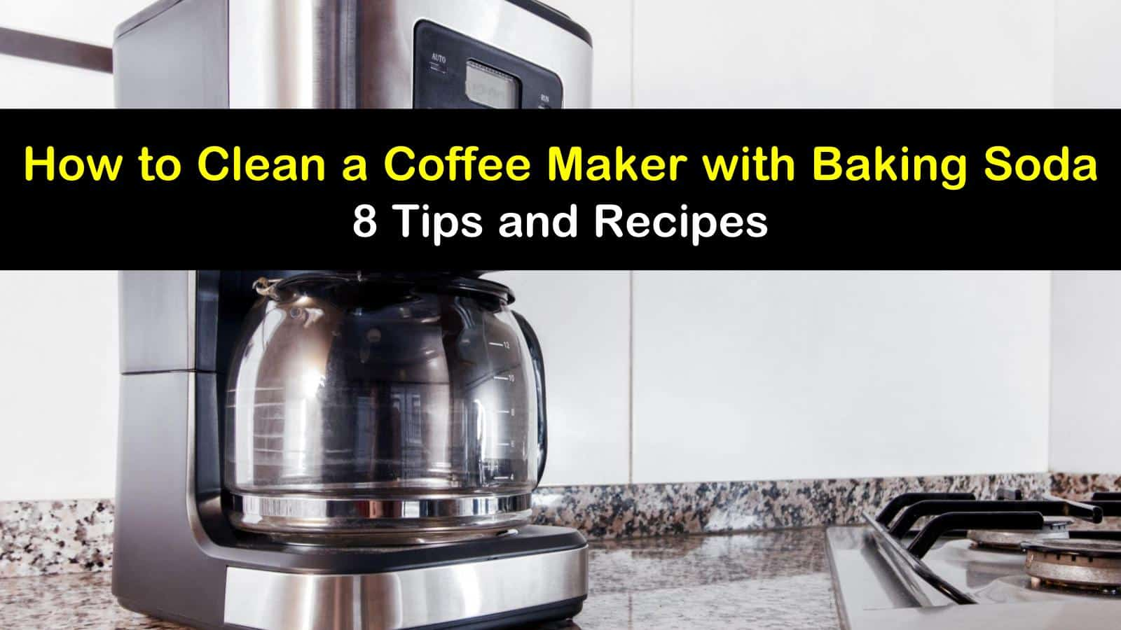 how to clean a coffee maker with baking soda titleimg1