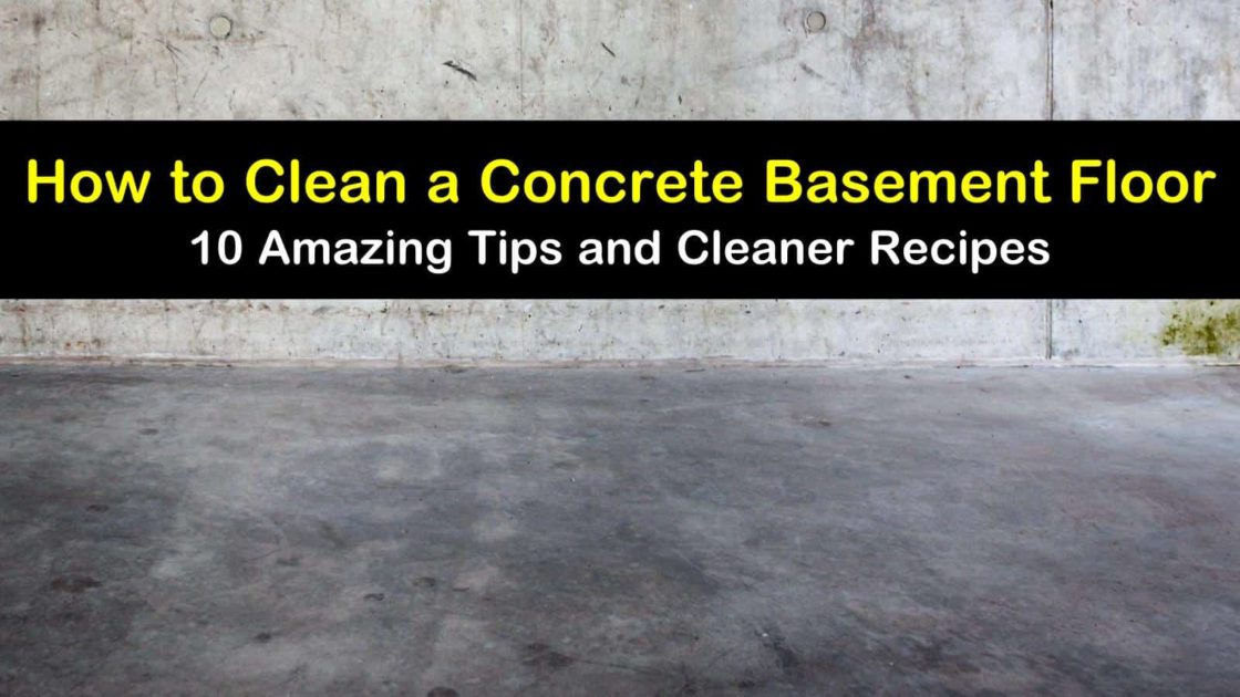 To Clean A Concrete Bat Floor