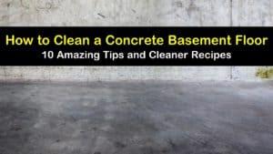 how to clean a concrete basement floor titleimg1