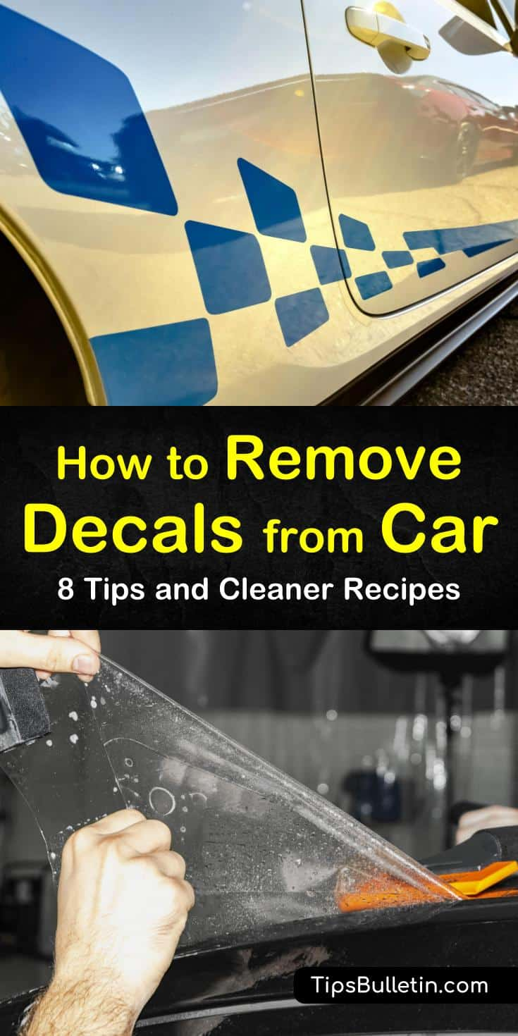 Try these amazing techniques for how to remove decals from car surfaces. Whether trying to remove vinyls or old stickers, these methods keep the paint intact. Try new strategies to remove decals from a car window without scratching the glass or ruining the tint. #remove #decals #car #window