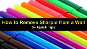 how to remove sharpie from a wall titleimg1