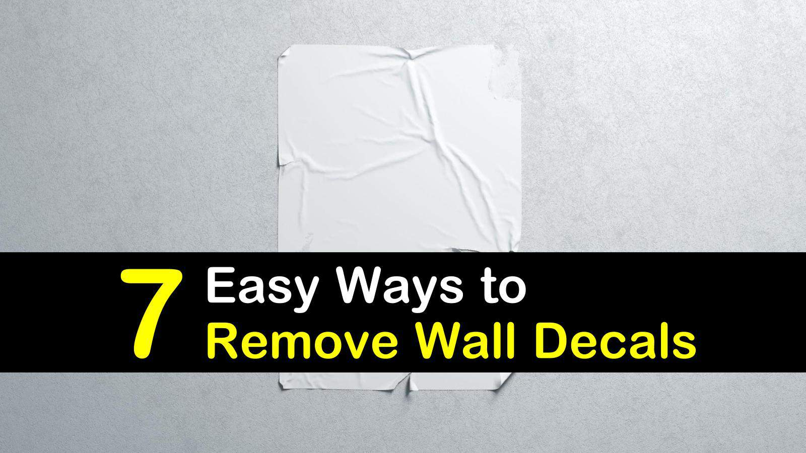 how to remove wall decals titleimg1