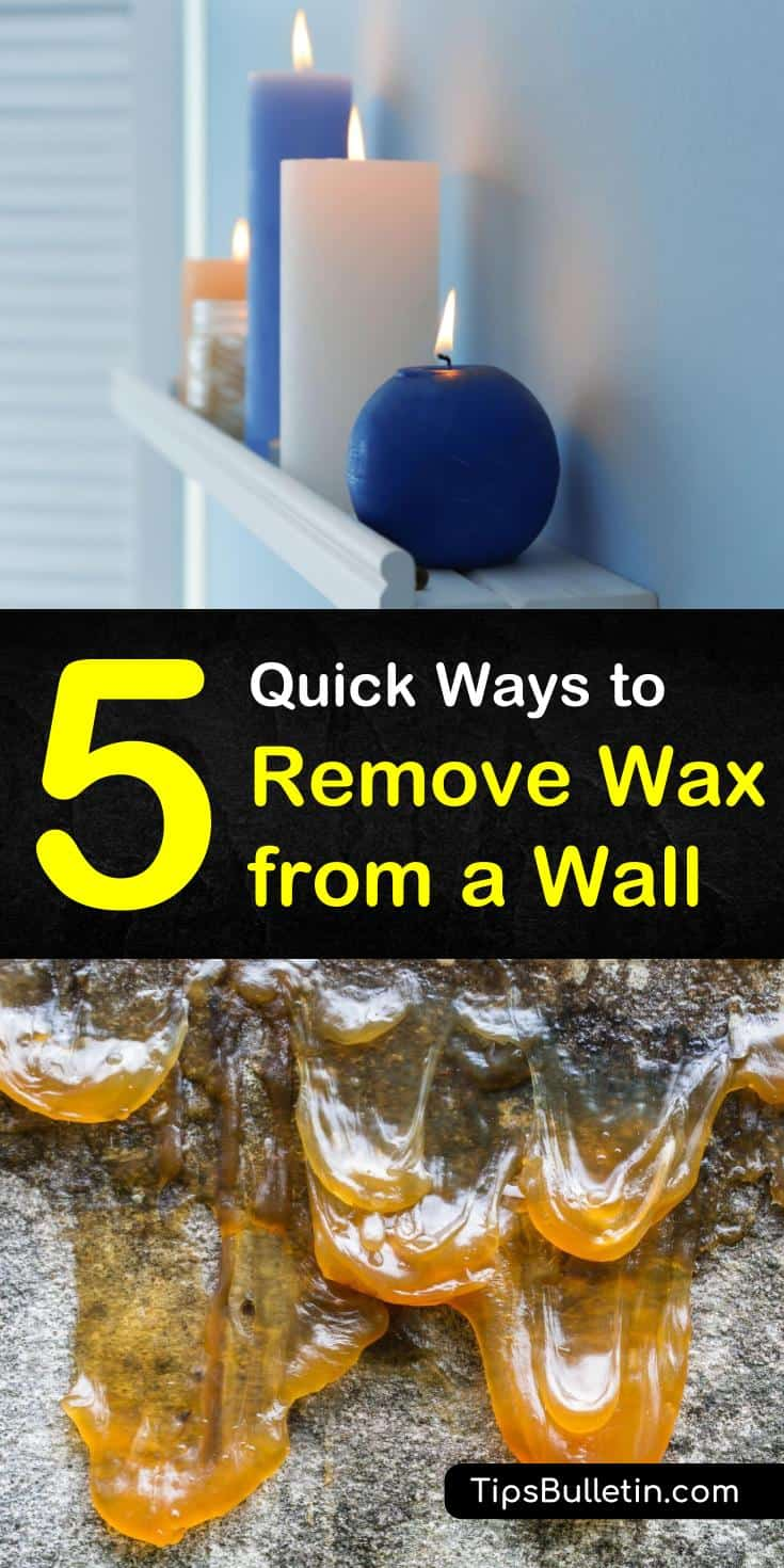 Candles kept in living rooms, bedrooms, and an esthetician room can have accidental spills. We show you how to remove wax from a wall using items such as a hairdryer, hot iron, paper bag, baking soda, and vinegar. #wallwaxremover #removewaxfromwall #wallcleaning