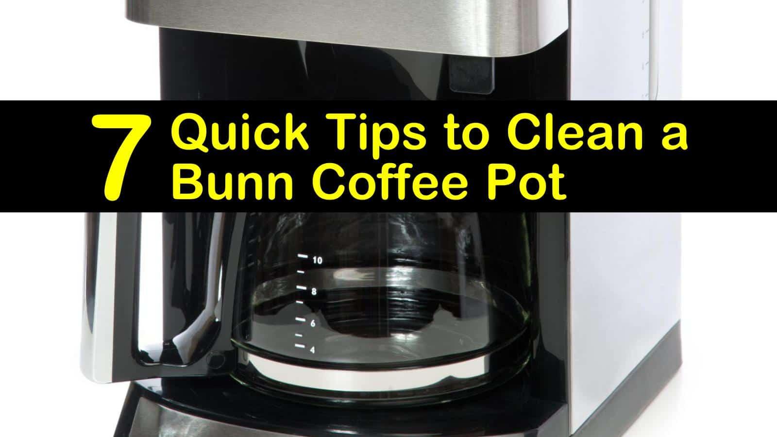 how to clean a bunn coffee pot titleimg1