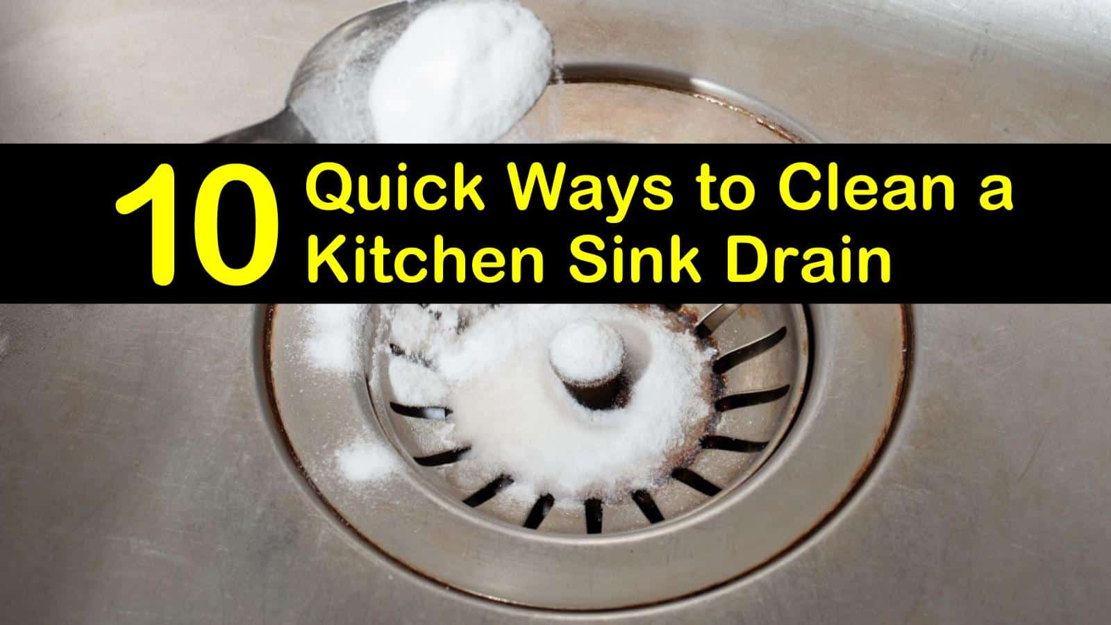 how to clean a kitchen sink drain titleimg1