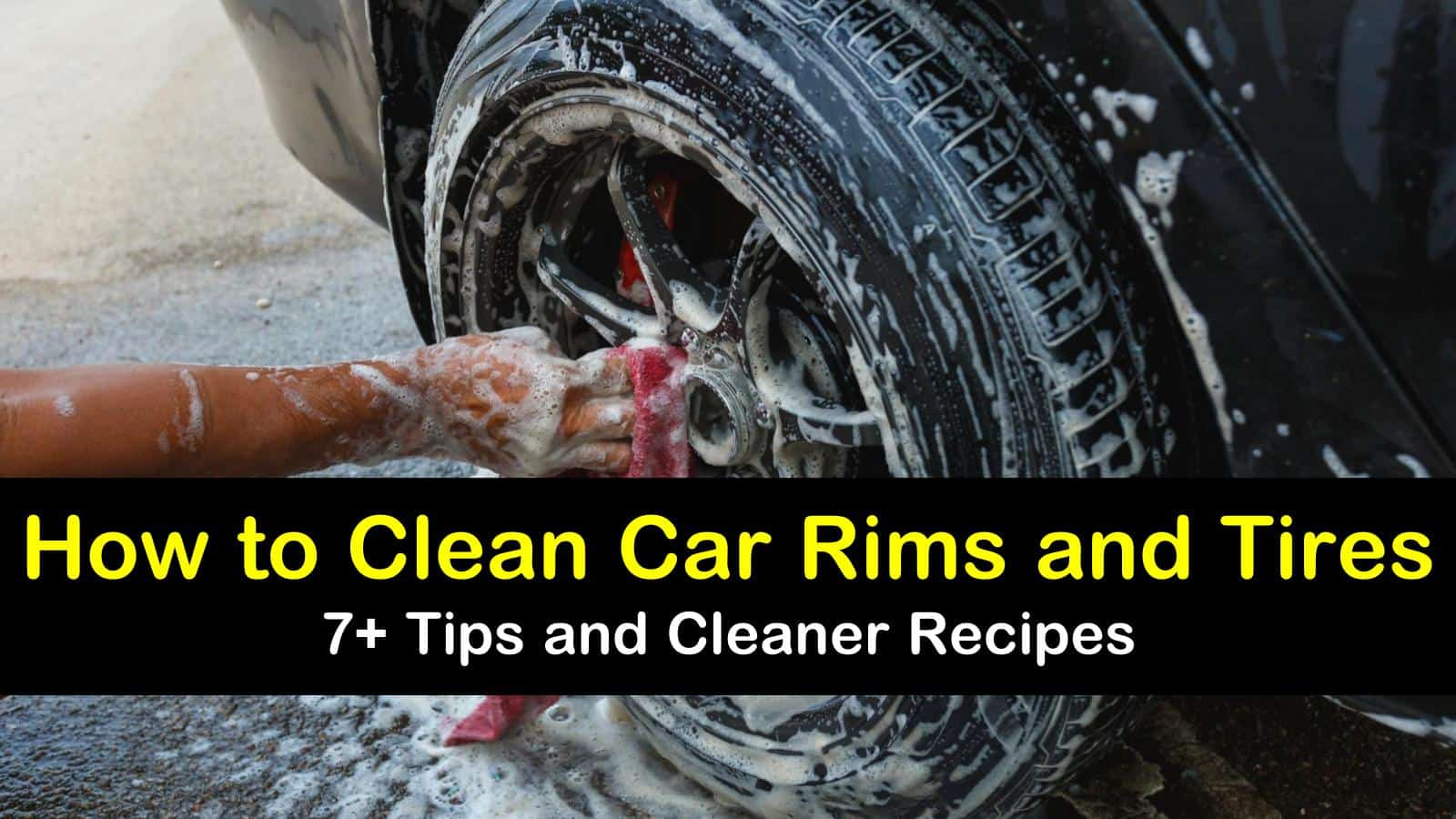 how to clean car rims and tires titleimg1