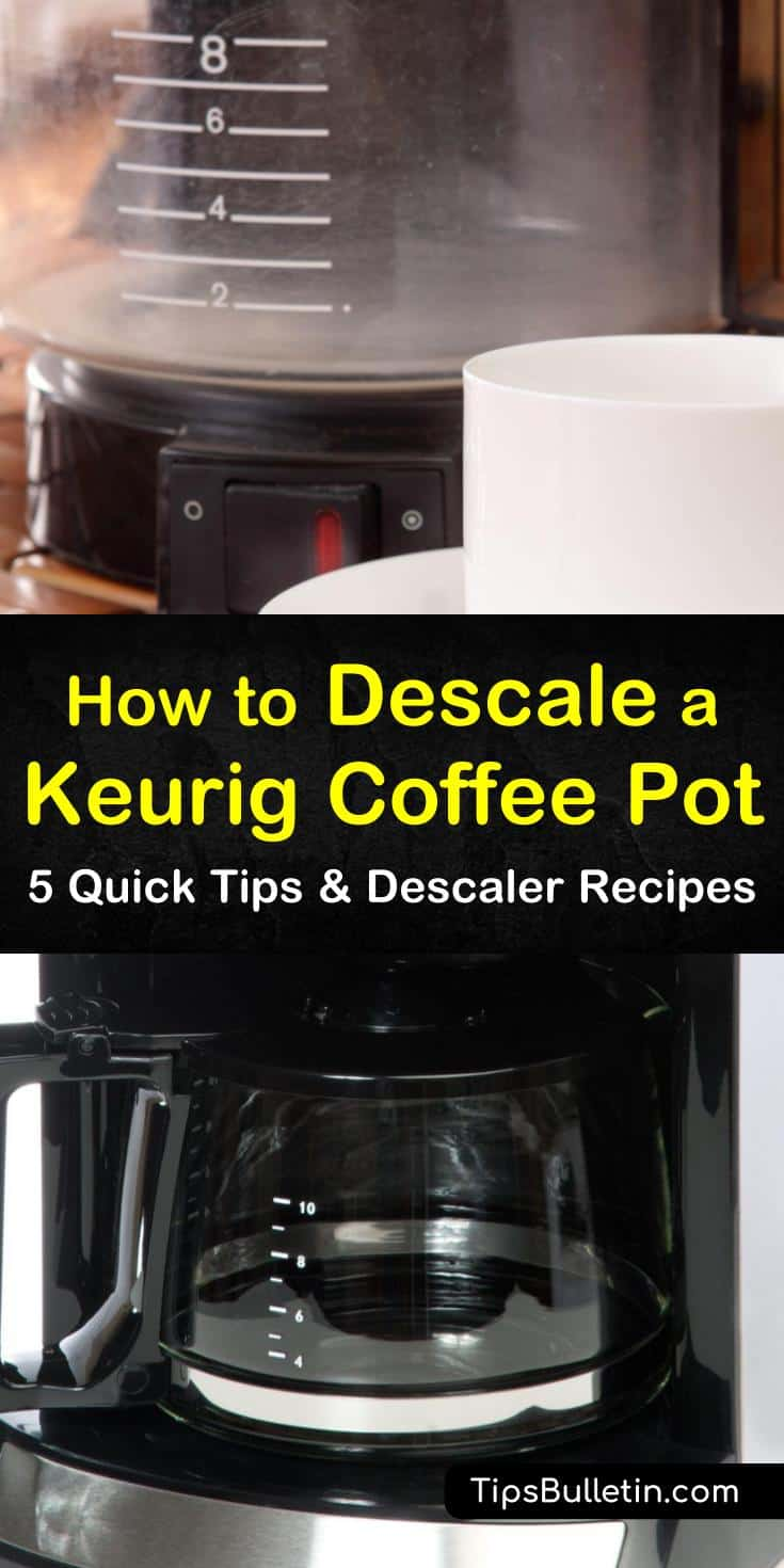 For coffee lovers there is nothing worse than going to brew a cup and your coffee maker doesn't work. From unsightly stains to clogged needles, we show you how to clean and descale your Keurig to keep it running smoothly. #descale #keurig #coffeemaker #descaling