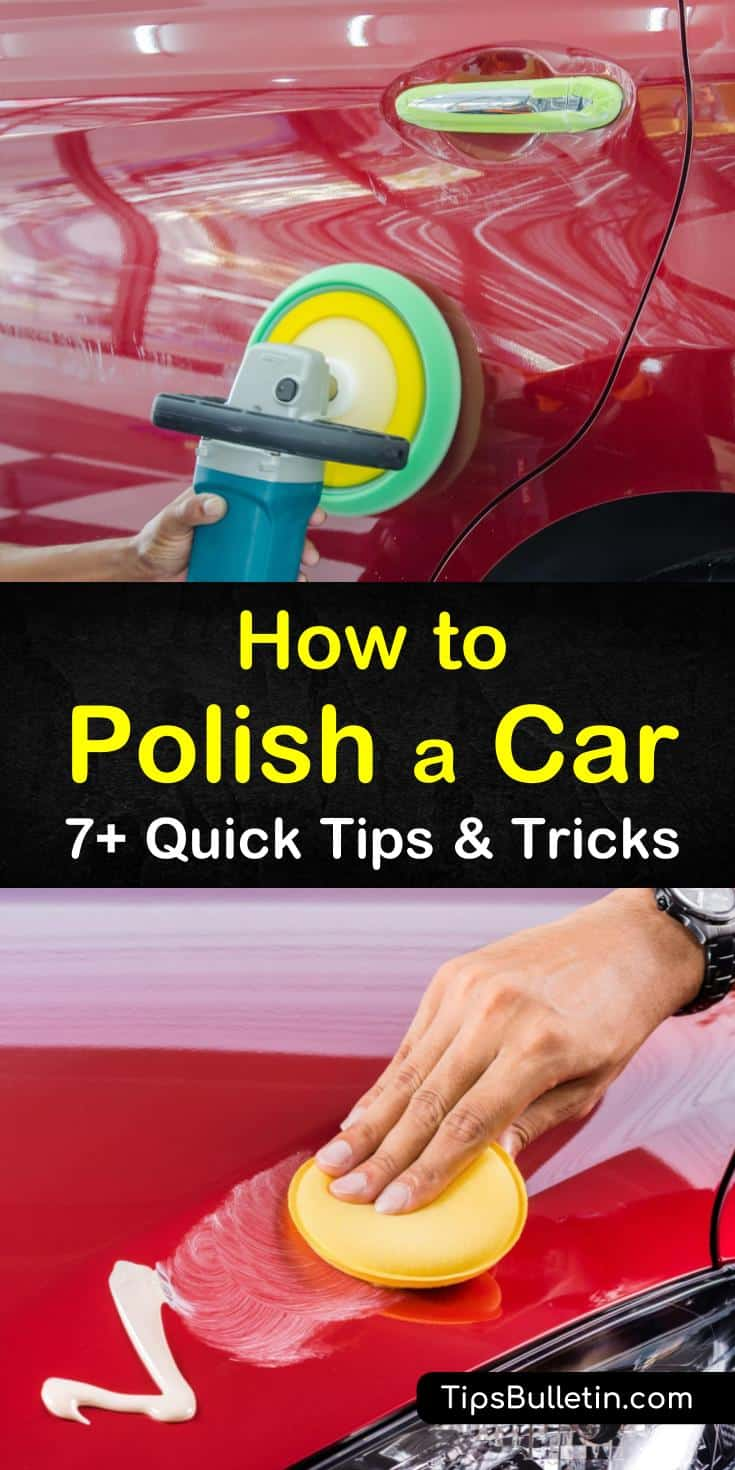 Learn how to polish a car using these easy-to-follow tips and tricks. Polish and wax your vehicles by hand or with a buffing machine by applying these DIY methods and techniques. Discover the best steps to take throughout the process for maximum results. #howto #polish #car