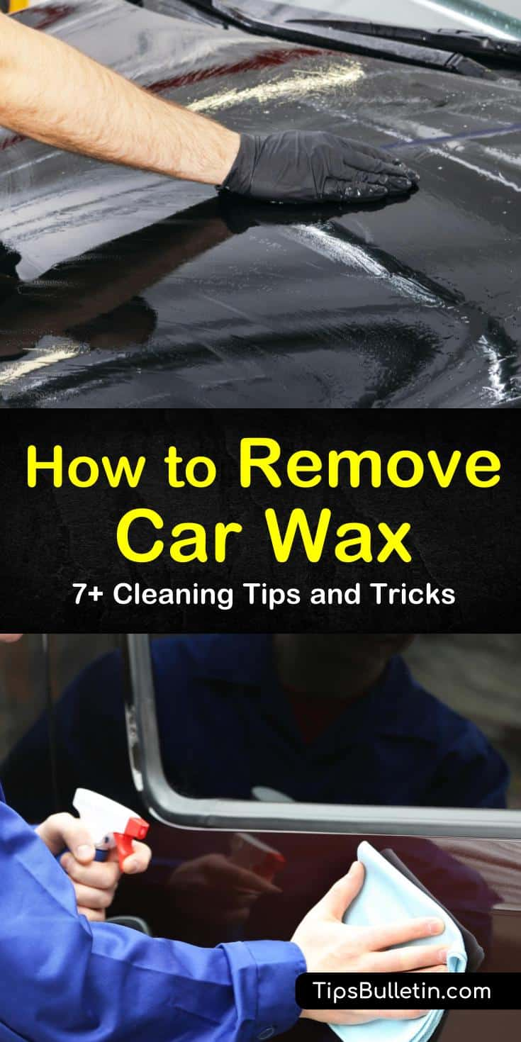 Discover easy ways to remove old wax off your car before applying a new coat of wax using a pre-wax cleaner or detailing clay. Wash dried wax off your car's headlights, plastic trim, and windows using simple ingredients. #removecarwax #carwax #takeoffcarwax
