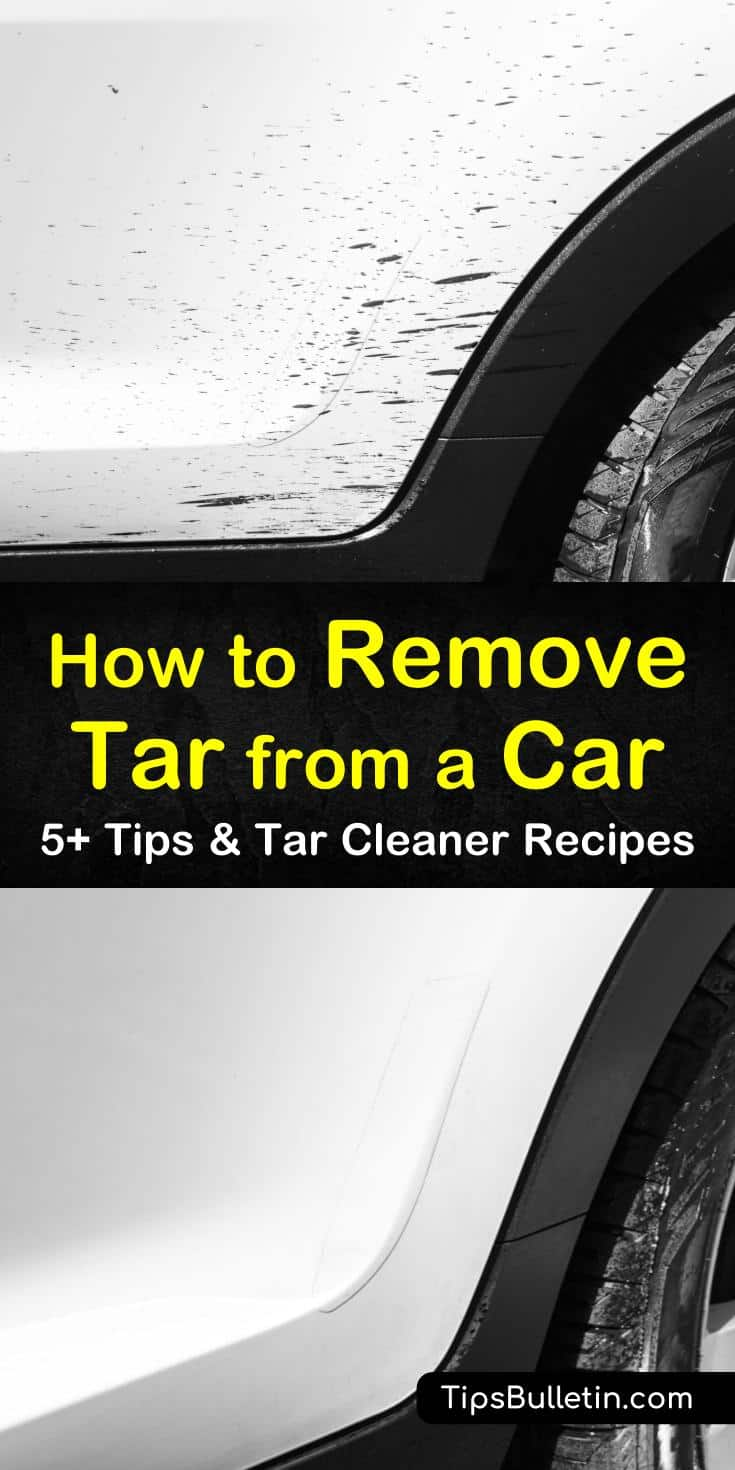 Find out how to remove tar from a car using household agents and powerful commercial cleaners that may include baking soda and other ingredients. We give you reliable recipes that you can use to clean tar off your car and make it look like new again. #roadtar #carwash #cleaningtar #tarremoval