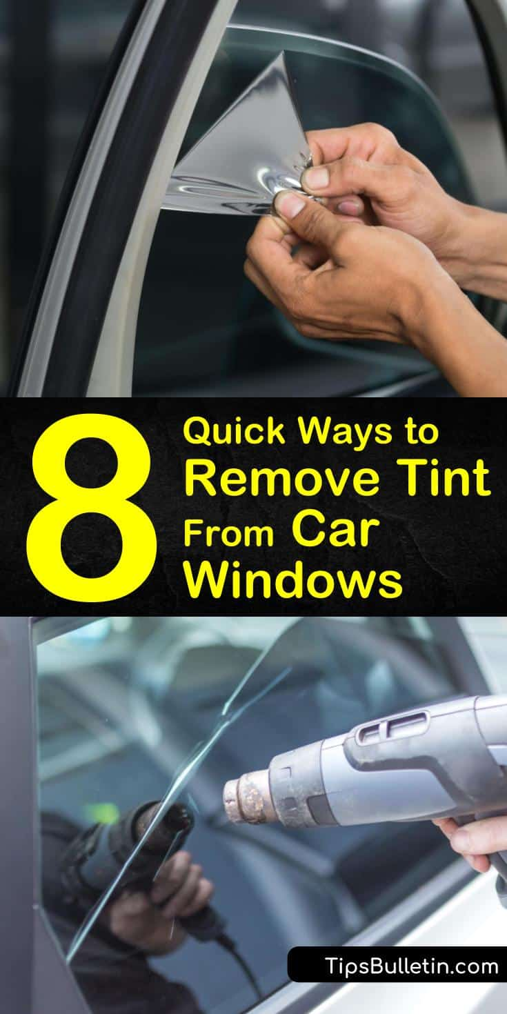 Try these gentle methods for how to remove tint from car windows without damaging the vehicle. Uncover tint removal tips using ammonia, soapy water, or fabric steamer. Learn the best ways for washing your car windows before and after removal for a streak-free finish. #remove #tint #car #windows