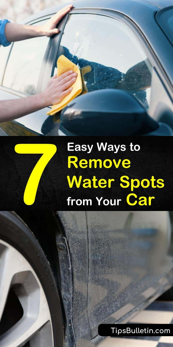 Discover how to remove water spots from a car with our guide, and keep your ride looking like new. We show you how to get water spots from your paint and windows and bring your car back to life. #waterspots #car #water #spots