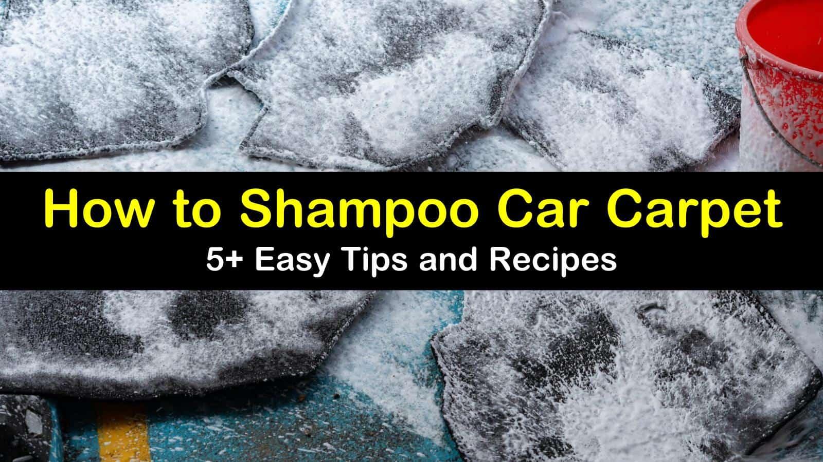 how to shampoo car carpet titleimg1