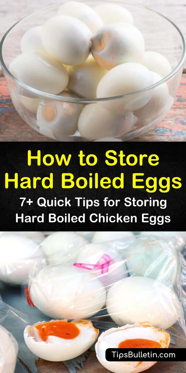The best way to store all eggs, including hard boiled, is in fridge. How you store eggs in refrigerators depends if they are peeled, unpeeled, raw, or combined in various dishes. #hardboiledeggs #hardcookedeggs #eggs