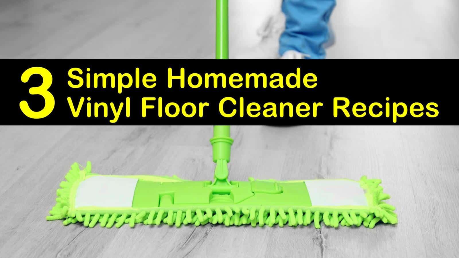 homemade vinyl floor cleaner titleimg1