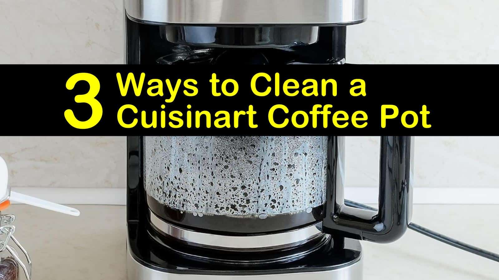 how to clean a cuisinart coffee pot titleimg1