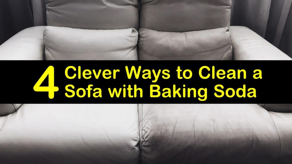 Clean A Sofa With Baking Soda