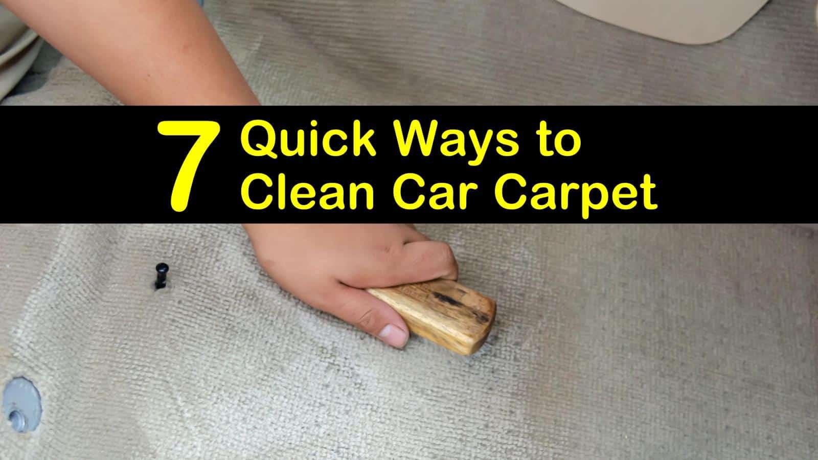 how to clean car carpet titleimg1