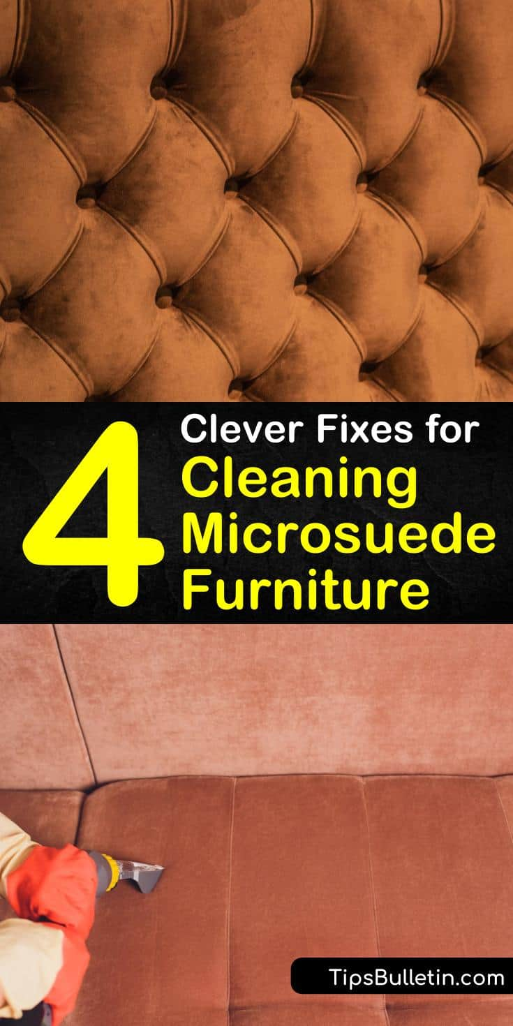 Curious about how to clean suede furniture without damaging it with harsh cleaning solutions? Use special tools like a suede eraser and brush to remove dirt and clean suede with baking soda. For spots and stains, try ingredients like rubbing alcohol and white vinegar. #clean #suede #furniture