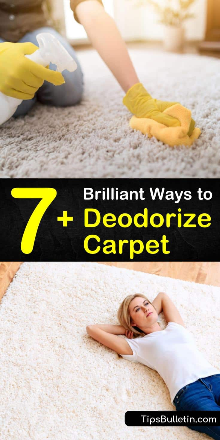 Discover the best strategies for how to deodorize carpet with these simple DIY tips and recipes. Use baking soda to deodorize carpet and essential oils for a natural air freshener. Try unique methods for eliminating foul carpet smells, including Borax and vodka. #howto #deodorize #carpet #odors
