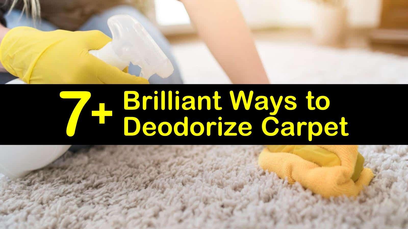 how to deodorize carpet titleimg1