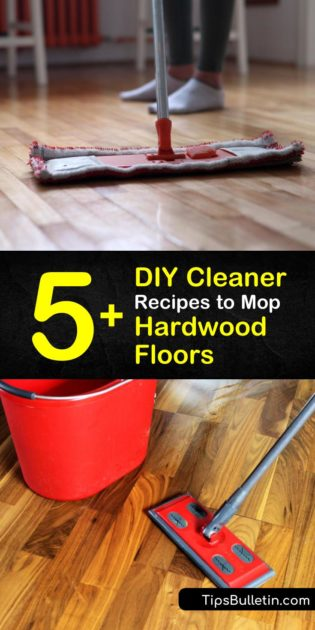 Cleaner Recipes to Mop Hardwood Floors
