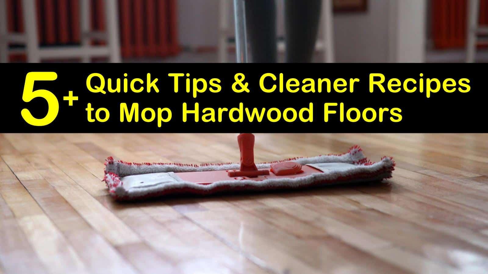 how to mop hardwood floors titleimg1