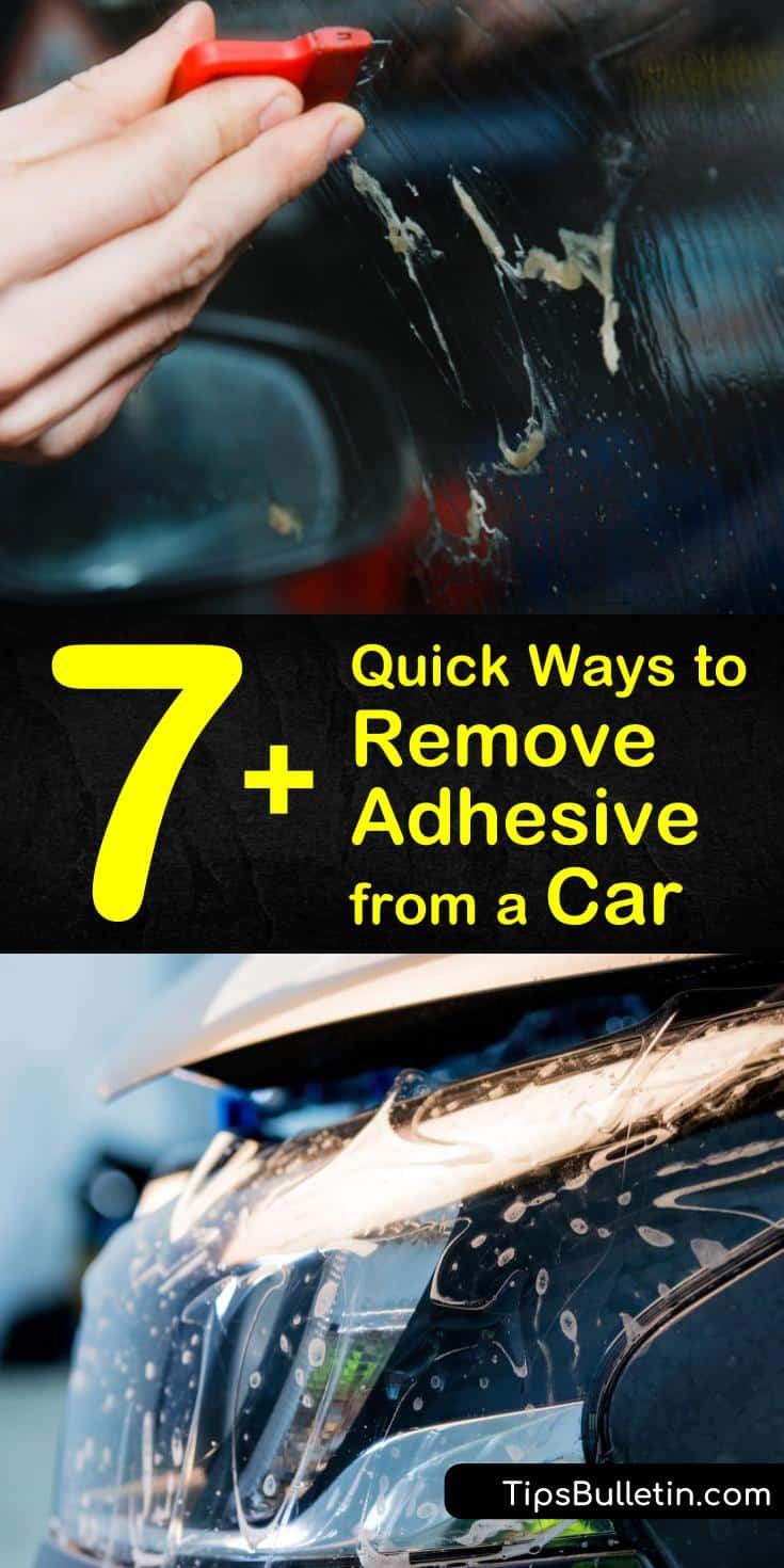Discover how to remove adhesive from a car using heat from a hair dryer or heating gun. Peel away stickers and dissolve tree sap with oil-based ingredients like WD40. Eliminate duct tape residue with rubbing alcohol or ammonia. #remove #adhesive #car