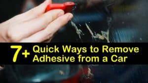 how to remove adhesive from a car titleimg1