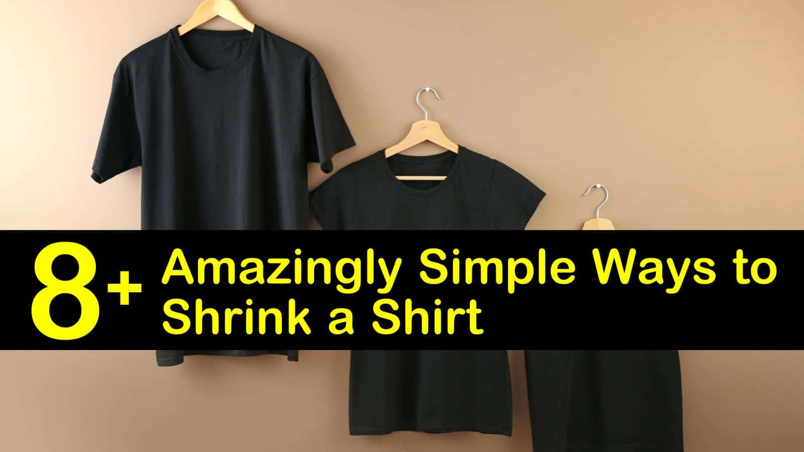 12+ Amazingly SImple Ways to Shrink a Shirt