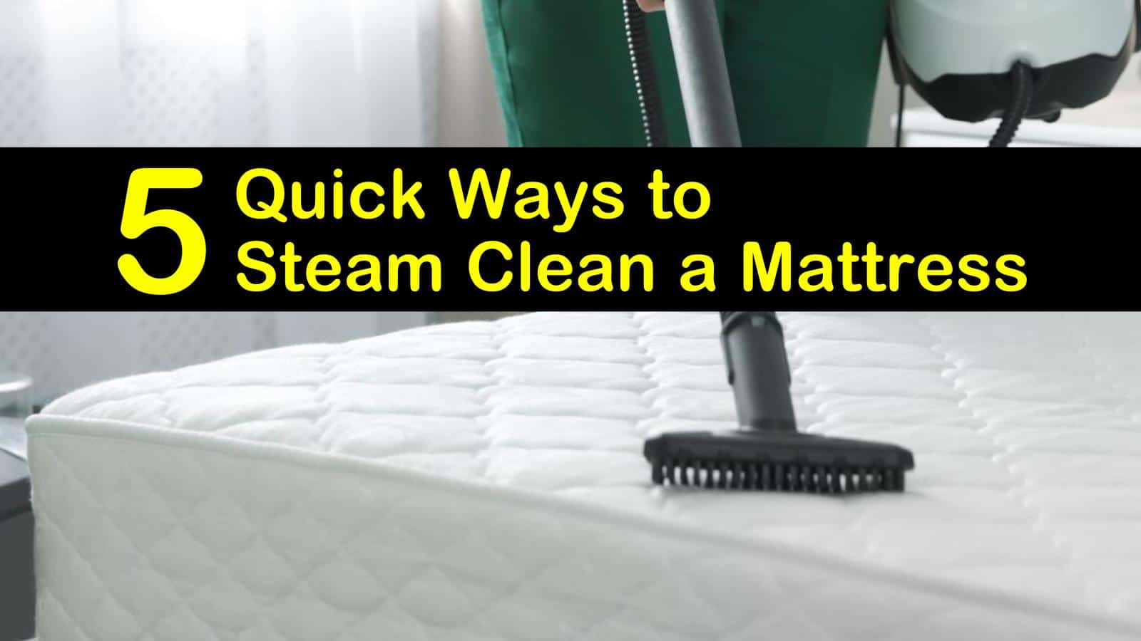 how to steam clean a mattress titleimg1
