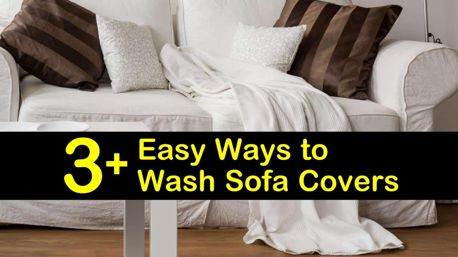 3 Easy Ways To Wash Sofa Covers